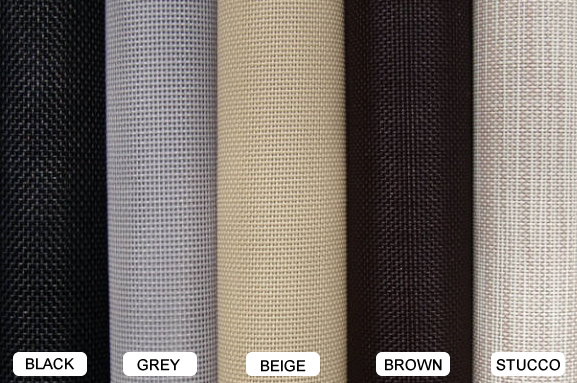 Solar Screen Fabric Colors